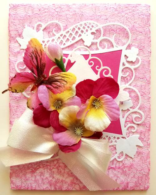 Die cut any occasion thinking of you greeting card with message m4hsunfo