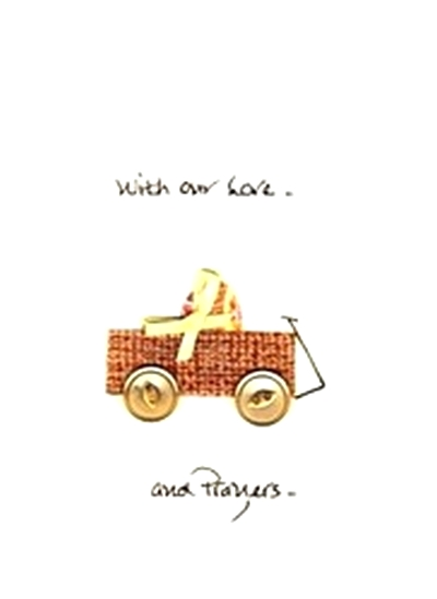 Handmade encouragement wagon greeting card for the terminally ill a handmade encouragement m4hsunfo