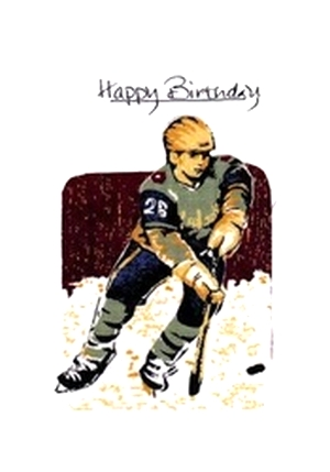 Handmade Fabric Birthday Cards And Messages For All Sports
