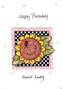 Sunflower/Ladybug