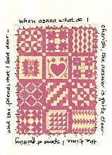 Quilt Note card