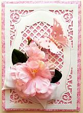 Beautiful Any Occasion card blank inside