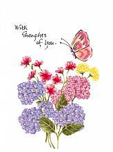Butterfly/Flowers