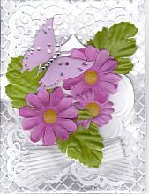 Shades of lavender Any Occasion card