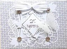 Special 25th Wedding Anniversary greeting card