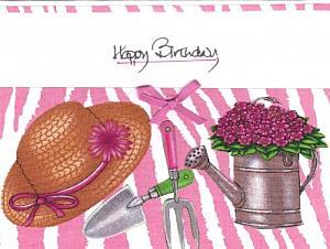 Pink Gardeners Hat