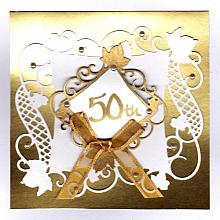 50th Anniversary gift holder & Keepsake