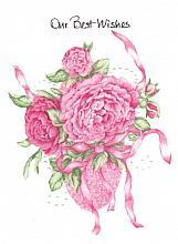 Pink Roses Congrats