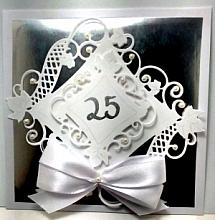 25th Anniversary Gift holder