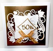 50th Anniversary gift holder