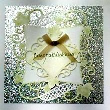 Congratulations gift card for presenting money