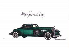 Vintage Car/ Green