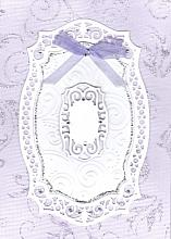 Extra special Lavender Die Cut Card