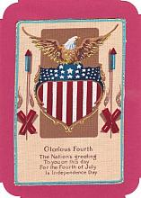 American Eagle Note card