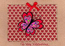 Valentine Butterfly #5