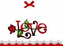 Handmade Valentine Greeting Card #2