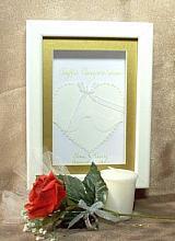 Framed Wedding Keepsake