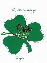 St. Patrick's Day Shamrock/Pipe