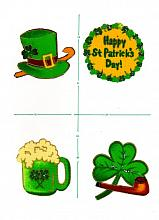 St. Patricks's Day  Down the Ol'Hatch greeting card